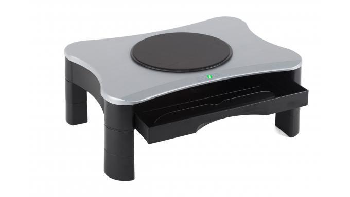 Podstawka pod monitor/drukarkę z szufladą