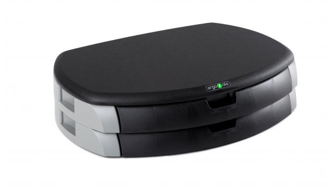 Podstawka pod monitor/drukarkę z 2 szufladami