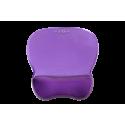 Podkładka żelowa pod mysz i nadgarstek C-Look fiolet ErgoSafe