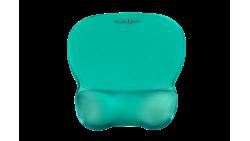 Podkładka żelowa pod mysz i nadgarstek C-Look zielony ErgoSafe