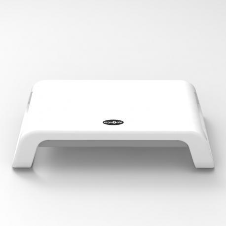 Ergosafe Podstawka pod Monitor z szufladą Model A White